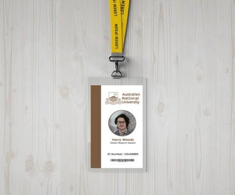 تصميم بطاقة الهوية - بطاقة التعريف -  ID Card