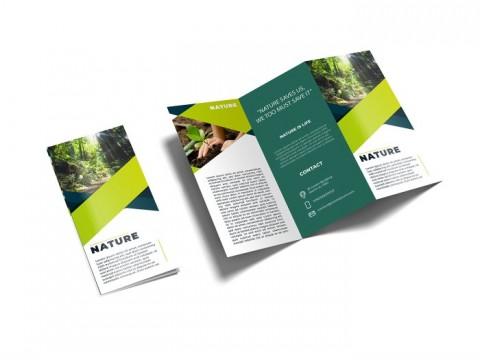 تصميم بروشور ( مطوية ) ( brochure ) احترافي ابداعي