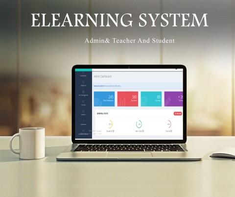 تصميم وبرمجة  نظام تعليم الكتروني باستخدام php Laravel