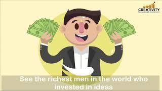 موشن جرافيك - اعلان عن الاستثمار فى الافكار
