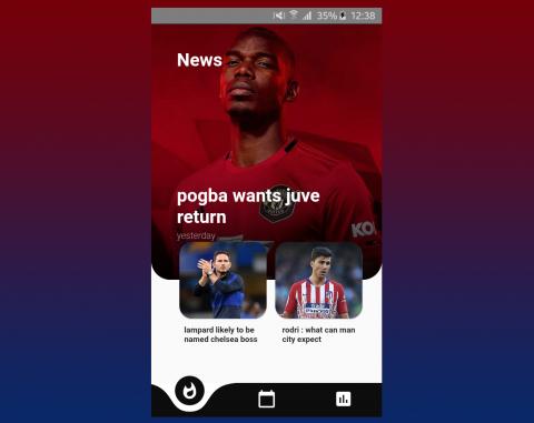 تطبيق اخبار لكرة القدم