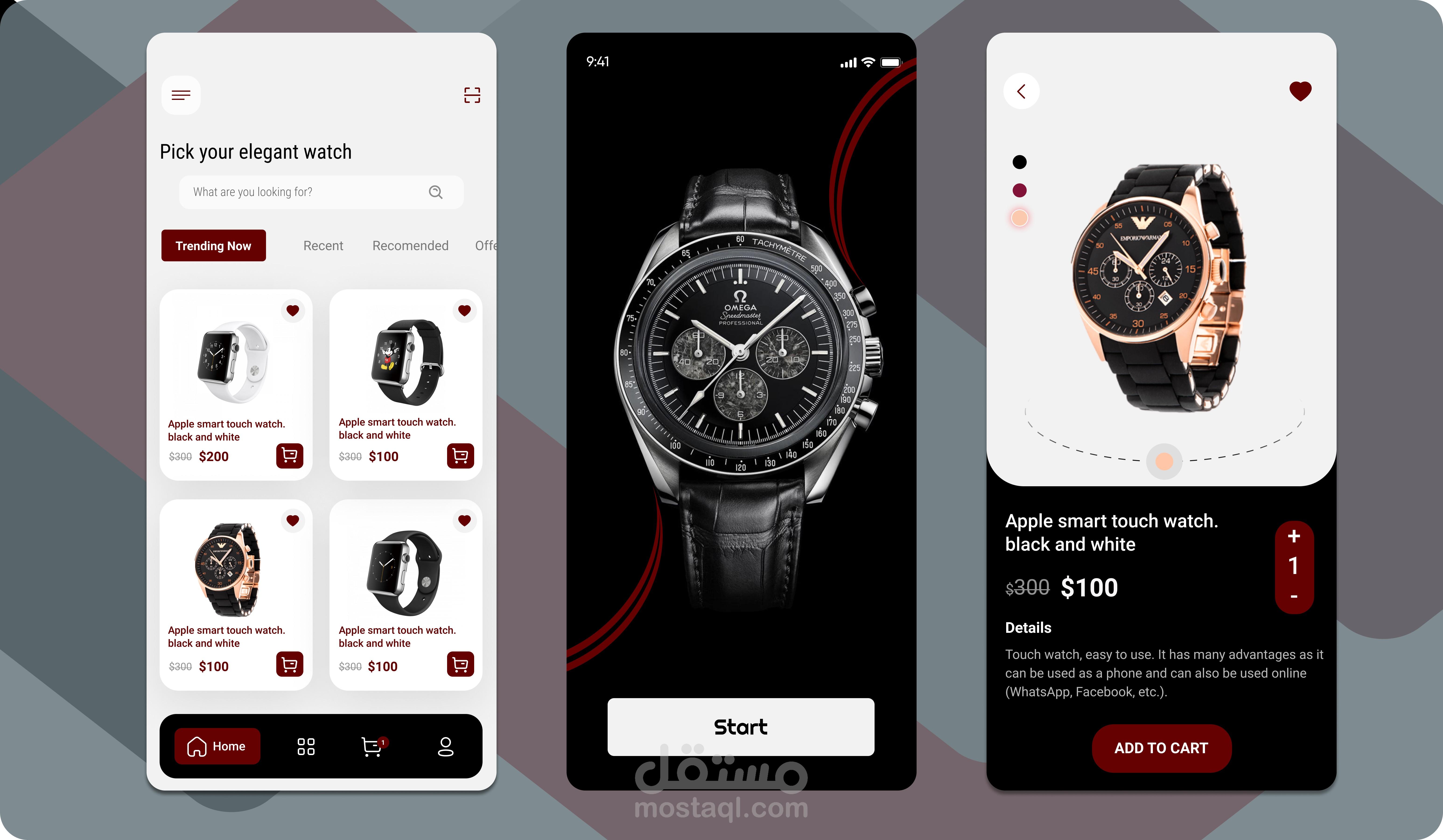 Watches app [UI/UX]