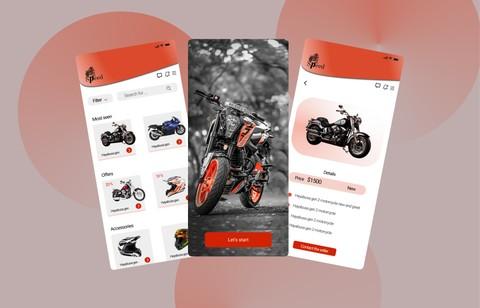 Motorcycle app [UI/UX]