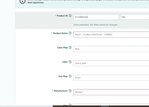 إضافة منتجات والعمل على لوحة تحكم متجر أمازون