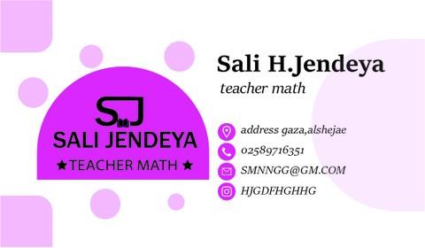 تصميم هوية بصرية لمعلمة رياضيات