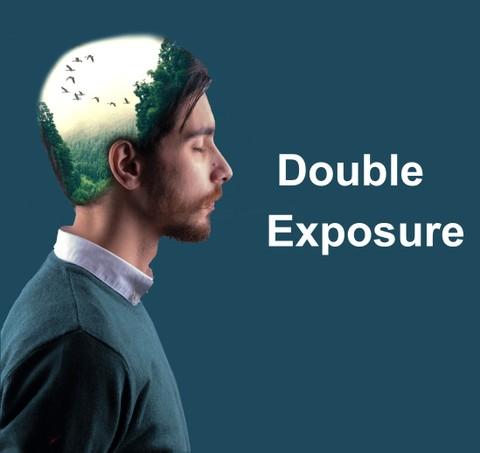 تصاميم Double  Exposure