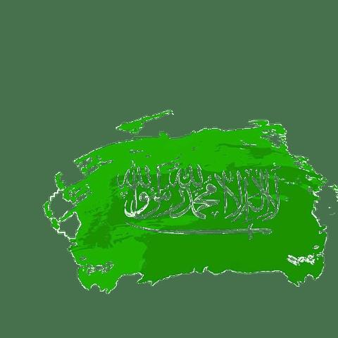 مونتاج لليوم الوطني السعودي