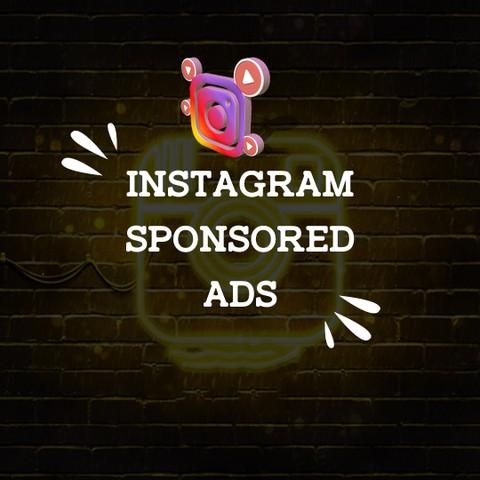 Instagram sponsored ads