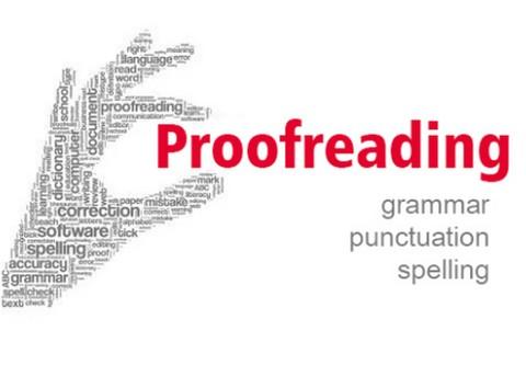 التدقيق اللغوي(Proofreading)