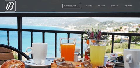 انشاء موقع لشركة سياحة ايطالية