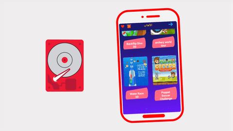 موشن جرافيك إعلاني لتطبيق GoUp