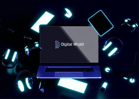 Digital World - Logo Design
