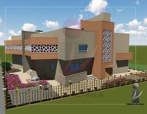 تصميم فيلا سكنية   Residential villa design