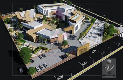 تصميم مركز طاقات الشبابي   Taqat Youth Center design