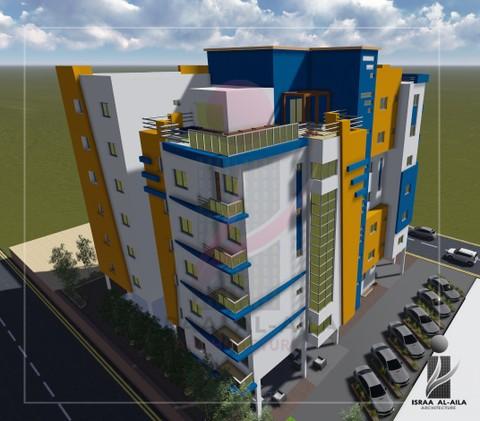تصميم برج سكني   Residential tower design