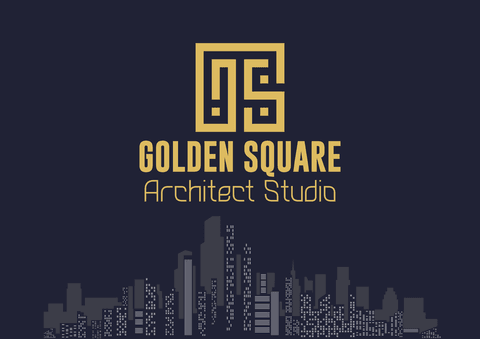 GOLDEN SQUARE - BRAND IDENTITY /LOGI DESIGN