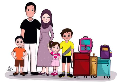 رسم قصص اطفال