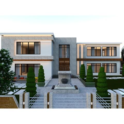 تصميم فيلا في دولة الامارات