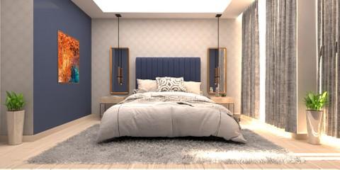 تصميم غرفة نوم شباب في الرياض