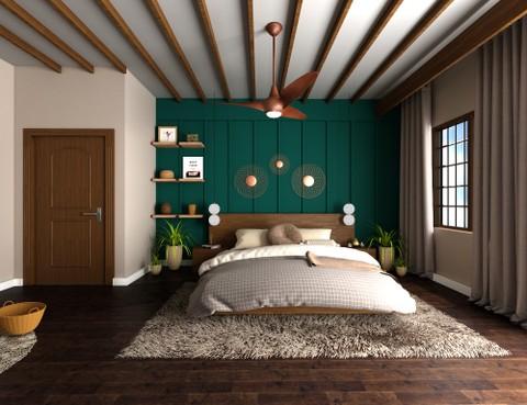 تصميم غرفة نوم رئيسية ب ستايل اسباني