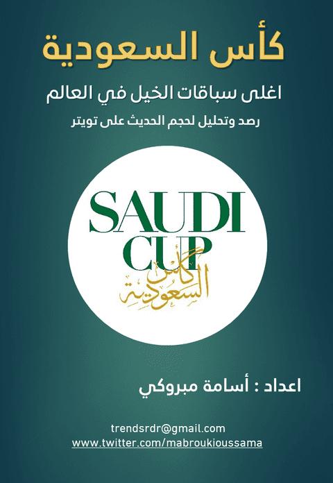رصد وتحليل لحجم الحديث حول كاس السعودية للخيول اغلى سباقات الخيل في العالم