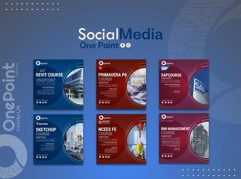 تصاميم سوشل ميديا-مركز تدريبي