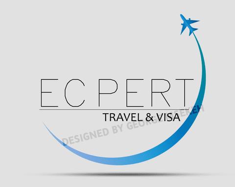 Ecpert travel agency Logo