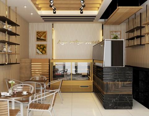 تصميم محل حلويات تركية في عُمان