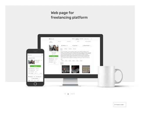 موقع ويب للاعمال الحرة