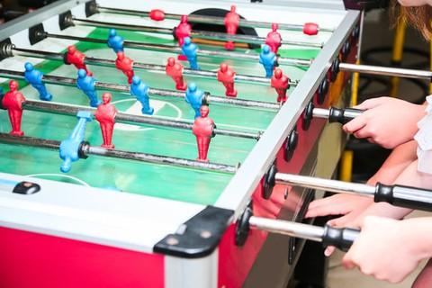 مشروع لعبة الفيشة foosball