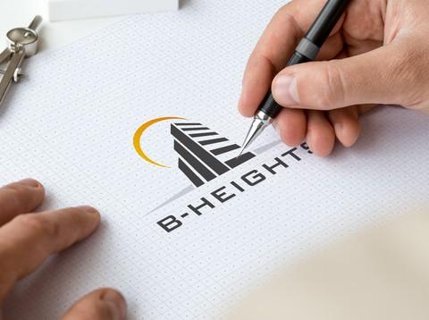 B-Heights Logo design