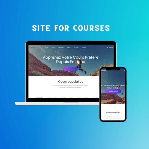 Site for courses