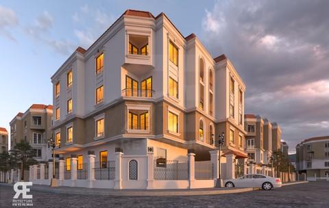 عمارة سكنية في مصر