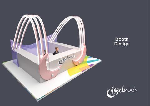 Angelmoon booth-بوث لشركه انجل موون