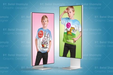 تصميم بلايز للأطفال ( تي شيرت - T-shirt ) برسومات جديدة وجميلة