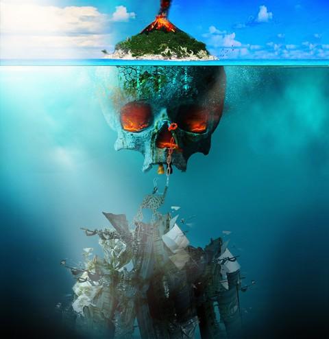 بوستر فانتازيا لجزيرة الموت