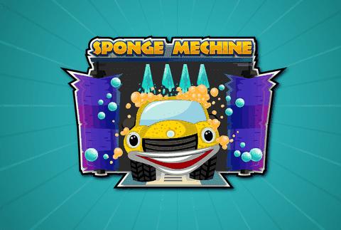 تصميم شعار احترافي  Sponge Machine