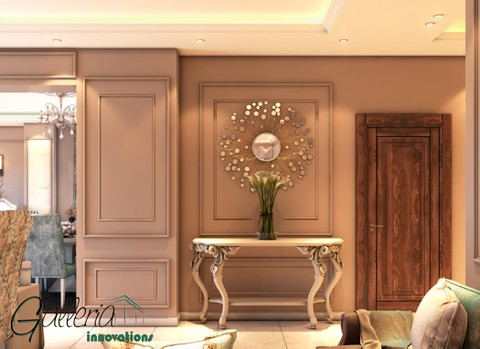 تصميم داخلي لشقة بمدينة الشروق