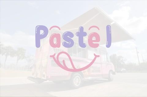 شعار لسيارة حلويات وعصائر متنقلة بنموذجين