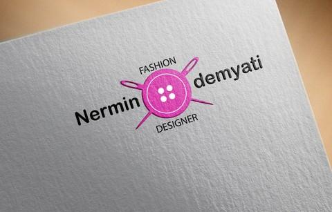 لوجو لمصممة أزياء (Fashion designer logo)