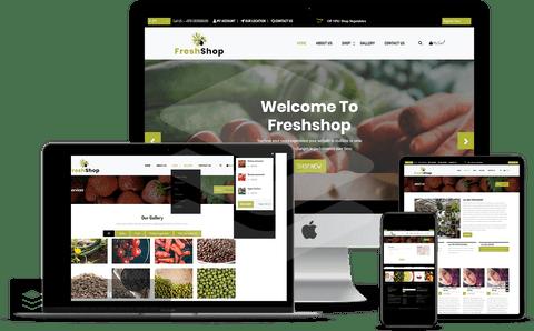 موقع تسوق غذائي إلكتروني