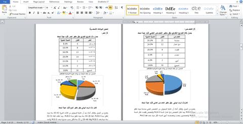 دراسة ميدانية عن القيمة المضافة و المعلومات المحاسبية  spss