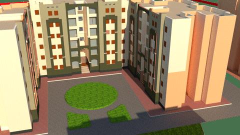تحويل مخطط معمارى الى مخطط مجسم 3d