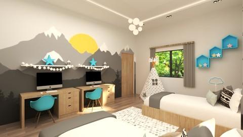 غرفة نوم اطفال (اولاد) مدينة الرياض