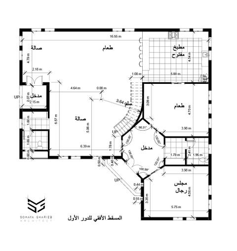 مخطط لفيللا دورين بالسعودية