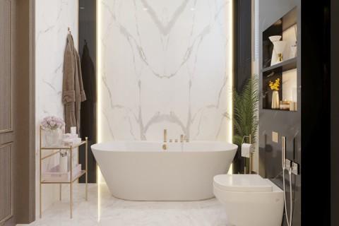 حمام غرفة نوم رئيسية