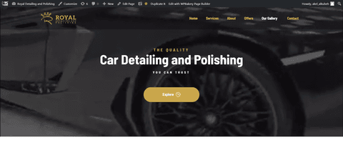 Royal Polishing Detailing Car Care