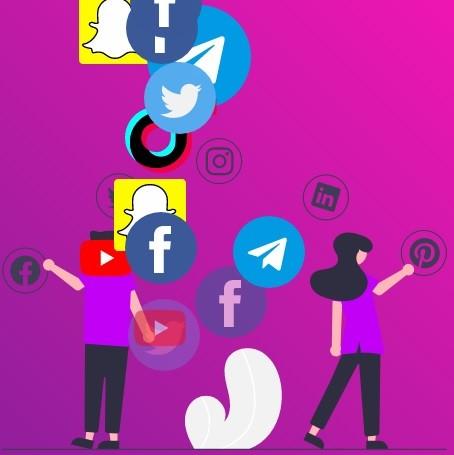 كتابة نص إعلان لموقع فيكورت لخدمات وسائل التواصل الاجتماعي