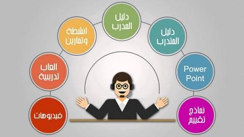 اعداد وتصميم حقائب تدريبية بهيئات دولية