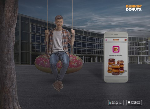 Social Media Design for dunkin